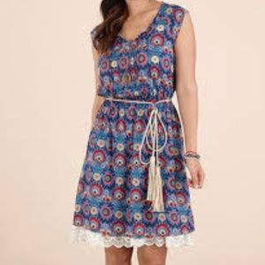 Matilda Jane Splendid Blue Floral Dress